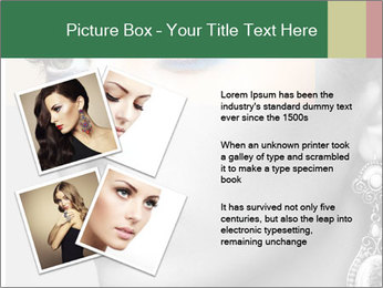 Beautiful young woman PowerPoint Template - Slide 23