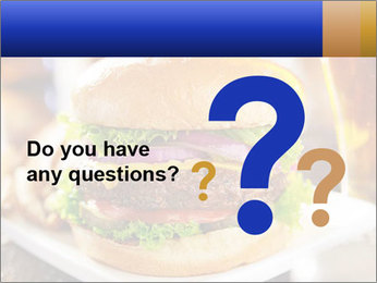 Hamburger PowerPoint Templates - Slide 96