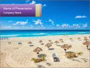 Beach panorama PowerPoint Templates