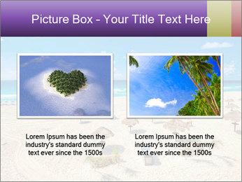 Beach panorama PowerPoint Templates - Slide 18