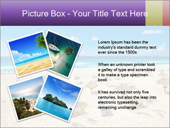 Beach panorama PowerPoint Templates - Slide 23