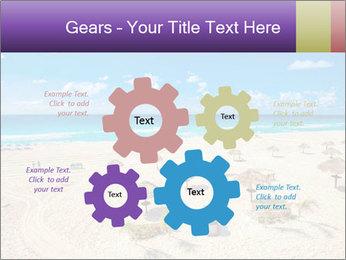 Beach panorama PowerPoint Templates - Slide 47