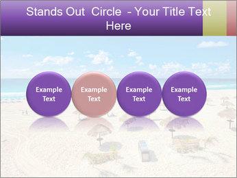 Beach panorama PowerPoint Templates - Slide 76