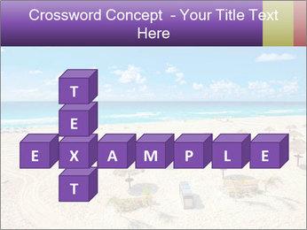 Beach panorama PowerPoint Templates - Slide 82