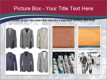 Jeans folded into rolls PowerPoint Template - Slide 19