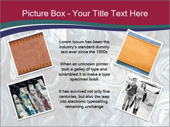 Jeans folded into rolls PowerPoint Template - Slide 24