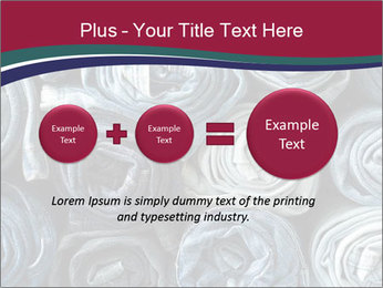 Jeans folded into rolls PowerPoint Template - Slide 75