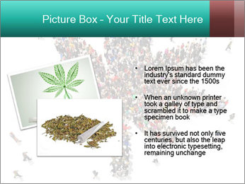 Medical marijuana PowerPoint Template - Slide 20