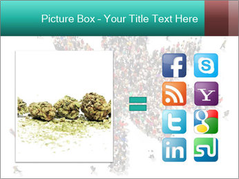 Medical marijuana PowerPoint Template - Slide 21