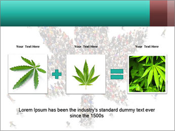 Medical marijuana PowerPoint Template - Slide 22