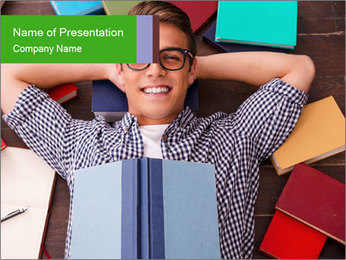Reading PowerPoint Template - Slide 1
