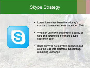Disruption of daily life. PowerPoint Template - Slide 8