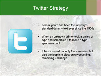 Disruption of daily life. PowerPoint Template - Slide 9