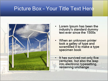 Sillouette of Wind PowerPoint Template - Slide 13
