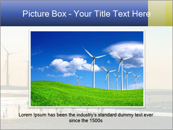 Sillouette of Wind PowerPoint Template - Slide 15