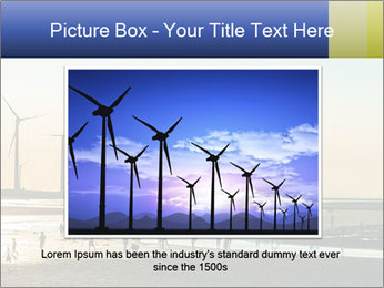 Sillouette of Wind PowerPoint Template - Slide 16