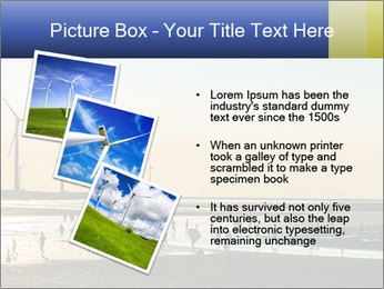 Sillouette of Wind PowerPoint Template - Slide 17