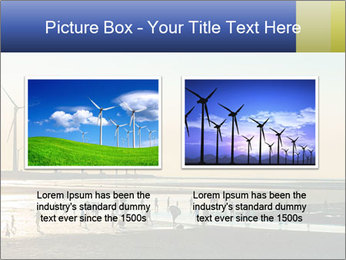 Sillouette of Wind PowerPoint Template - Slide 18