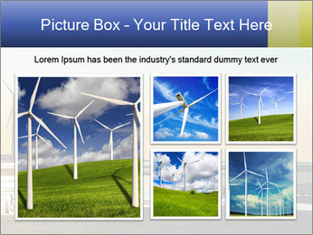 Sillouette of Wind PowerPoint Template - Slide 19