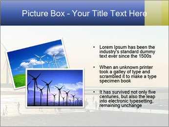 Sillouette of Wind PowerPoint Template - Slide 20
