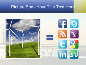 Sillouette of Wind PowerPoint Template - Slide 21