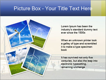Sillouette of Wind PowerPoint Template - Slide 23