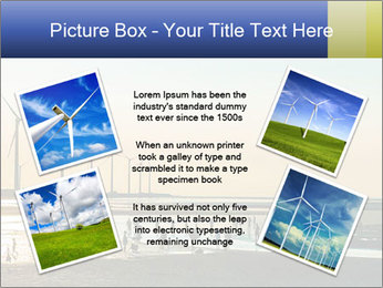 Sillouette of Wind PowerPoint Template - Slide 24