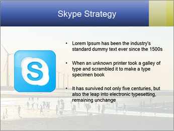 Sillouette of Wind PowerPoint Template - Slide 8