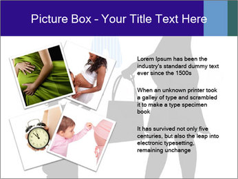 Vector pregnant woman PowerPoint Templates - Slide 23