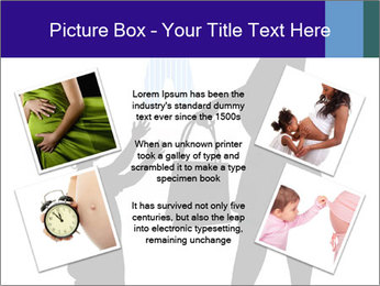 Vector pregnant woman PowerPoint Templates - Slide 24