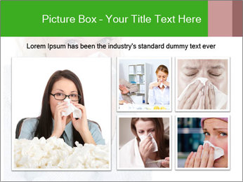 Beautiful caucasian woman PowerPoint Template - Slide 19