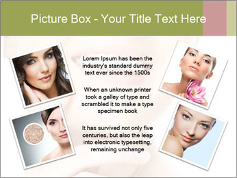 Woman face PowerPoint Templates - Slide 24