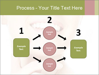 Woman face PowerPoint Templates - Slide 92