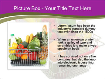 A shopping basket full PowerPoint Templates - Slide 13