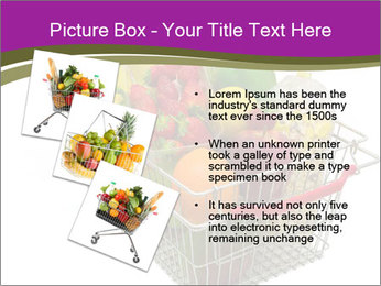 A shopping basket full PowerPoint Templates - Slide 17
