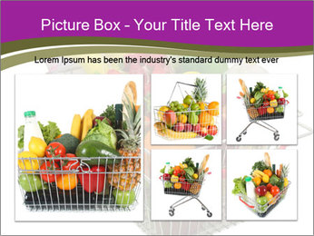 A shopping basket full PowerPoint Templates - Slide 19