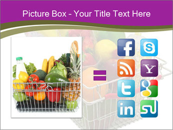A shopping basket full PowerPoint Templates - Slide 21