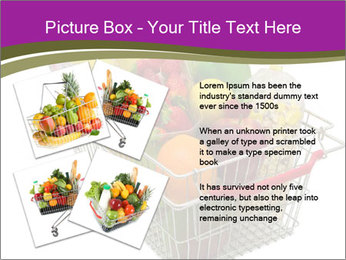 A shopping basket full PowerPoint Templates - Slide 23