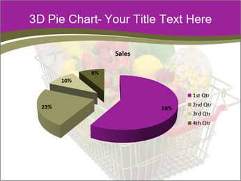 A shopping basket full PowerPoint Templates - Slide 35