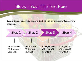 A shopping basket full PowerPoint Templates - Slide 4