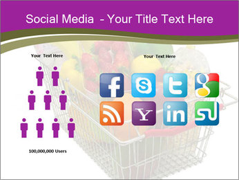 A shopping basket full PowerPoint Templates - Slide 5