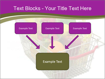 A shopping basket full PowerPoint Templates - Slide 70