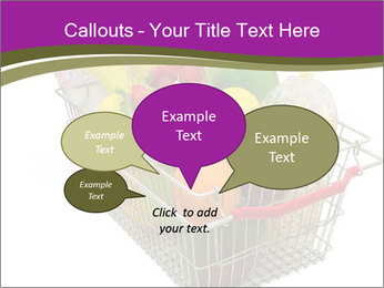 A shopping basket full PowerPoint Templates - Slide 73