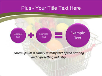 A shopping basket full PowerPoint Templates - Slide 75
