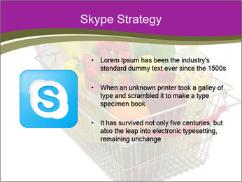 A shopping basket full PowerPoint Templates - Slide 8