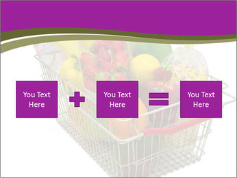 A shopping basket full PowerPoint Templates - Slide 95