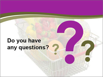 A shopping basket full PowerPoint Templates - Slide 96