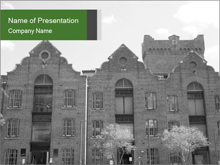 Historic buildings PowerPoint Templates