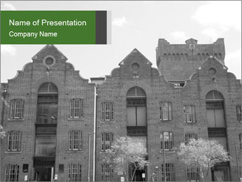 Historic buildings PowerPoint Templates - Slide 1