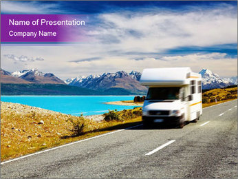 Traveling PowerPoint Template - Slide 1